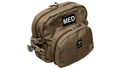 TacMed Patrol Aid Stocked Bag (Tan) - Forge Survival Supply