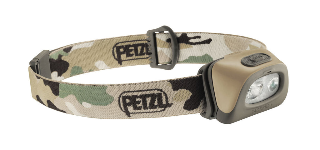 Petzl Tacktikka Headlamp (Camo) - Forge Survival Supply