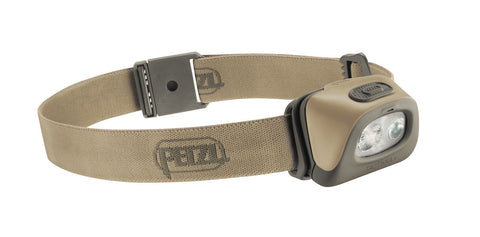 Petzl Tacktikka Headlamp (Desert) - Forge Survival Supply