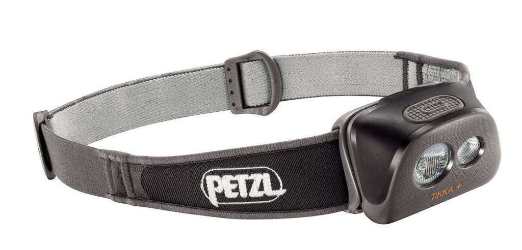 Petzl Tikka Plus Headlamp (Black) - Forge Survival Supply