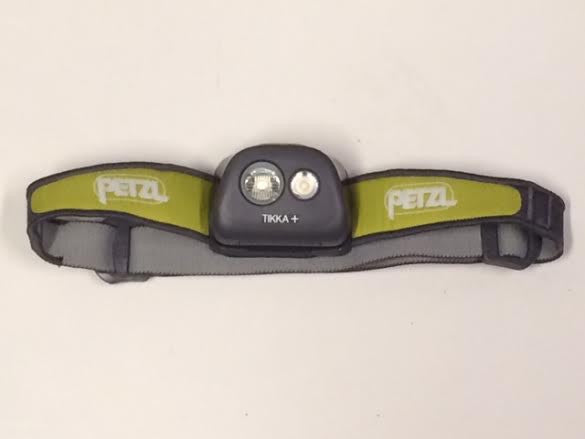 Petzl Tikka Plus Headlamp  (Lime Green)
