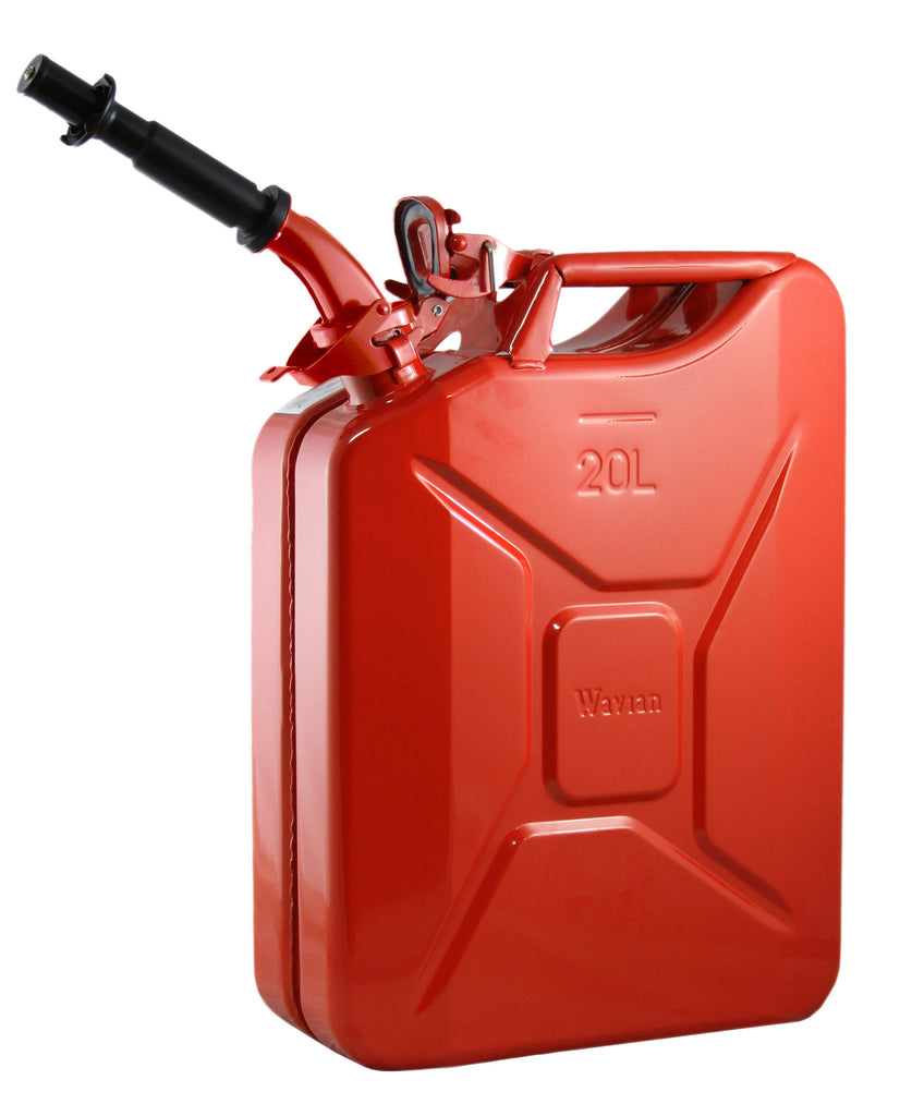 Wavian Nato 5-Gallon Jerry Fuel Storage (Red) - Forge Survival Supply