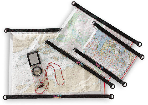 SealLine Waterproof Map Case (Large) - Forge Survival Supply