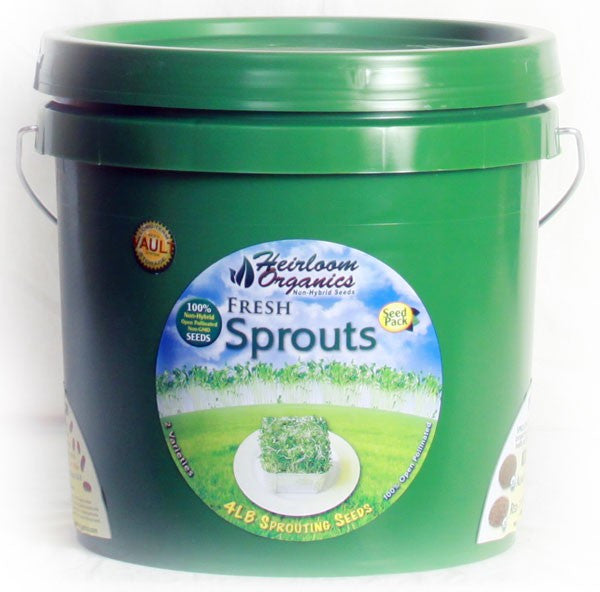 Heirloom Organics Fresh Sprouts Pack - Forge Survival Supply