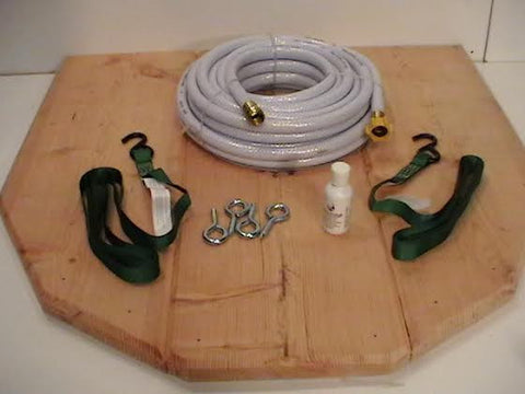 Water Tank Mounting Kit (500-Gallon) - Forge Survival Supply