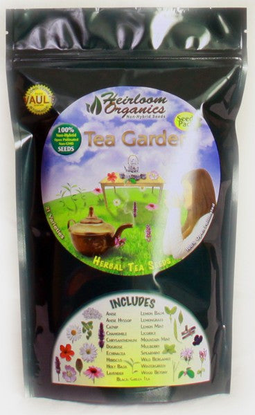 Heirloom Organics Tea Garden Pack - Forge Survival Supply - lowest price