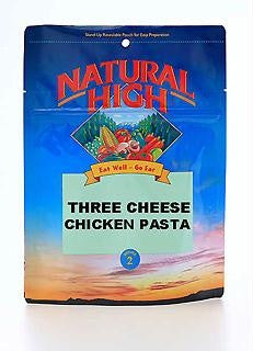 Natural High Three Cheese Chicken Pasta Pouches (Case of 12)
