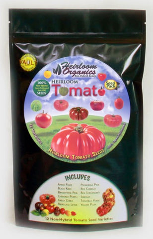 Heirloom Organics Tomato Pack - Forge Survival Supply - lowest price