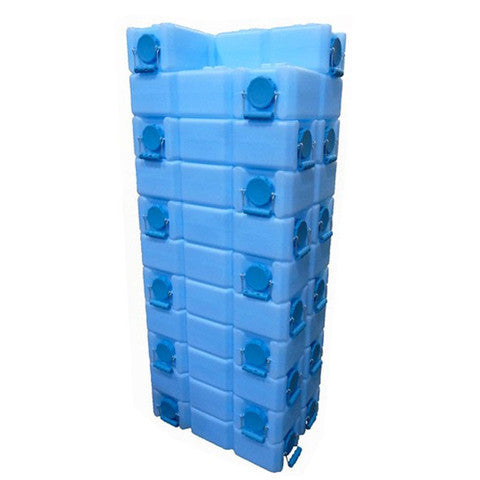 WaterBrick 112-Gallon Stackable Water / Food Storage Container