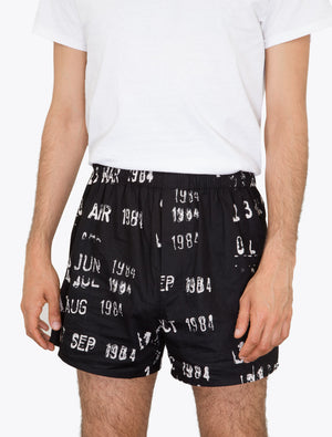Library Stamp Unisex Boxers