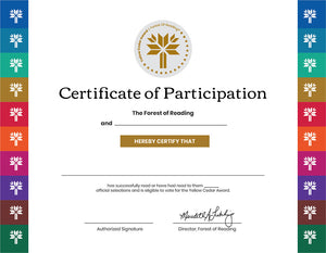 Yellow Cedar Certificates (10/Pack)