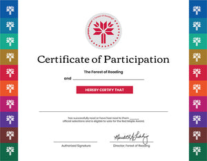 Red Maple Certificates (10/Pack)