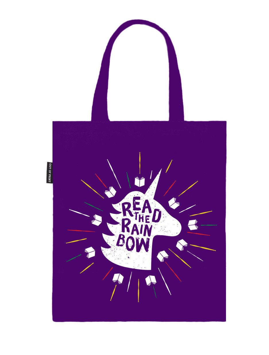 Read the Rainbow Tote Bag-Tote-Out of Print-The Library Marketplace