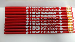 I Read Canadian™ Pencils-Pencils-library.lust-The Library Marketplace