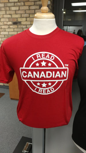 I Read Canadian™ T-shirt-T-Shirt-library.lust-The Library Marketplace