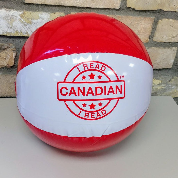 I Read Canadian Beach Ball