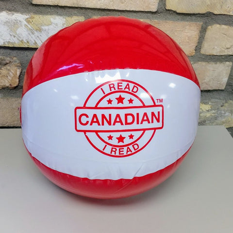 I Read Canadian™ Beach Ball-Beach Ball-Forest of Reading-The Library Marketplace