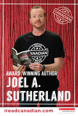 Joel Sutherland Poster - I Read Canadian