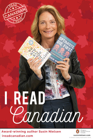 Susin Nielsen Poster - I Read Canadian