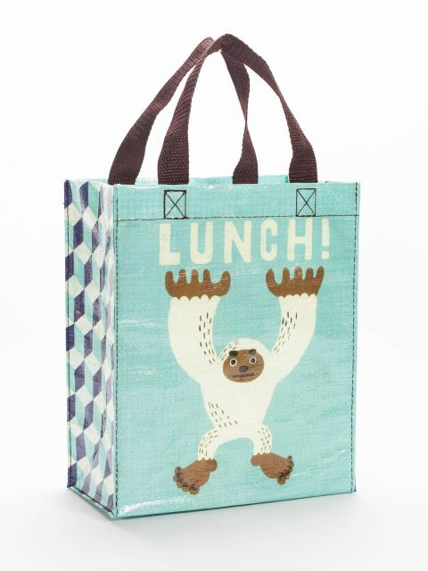 Lunch Handy Tote-Handy Tote-Blue Q-The Library Marketplace