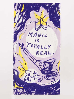 Magic is Totally Real Printed Towel