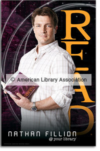Nathan Fillion Poster - The Library Marketplace