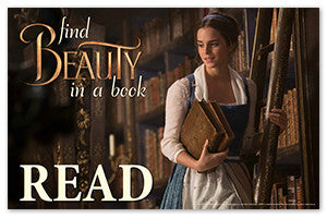 Beauty and the Beast Poster - The Library Marketplace