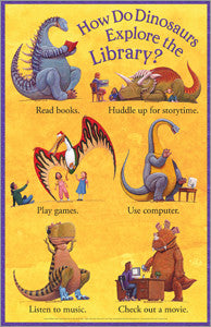 How Do Dinosaurs... Poster - The Library Marketplace