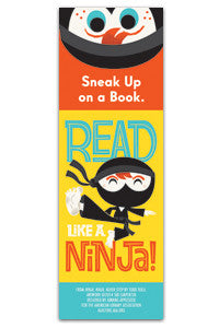 Read Like a Ninja Bookmark
