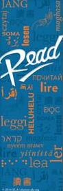 Blue Multilingual READ Bookmark - The Library Marketplace
