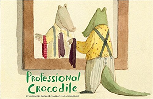 Professional Crocodile-Picture Book-Chronicle Books-The Library Marketplace