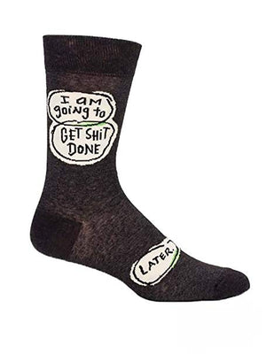 Get Sh*t Done Men's Socks