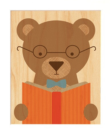 Story Bear-Print-Petit Collage-The Library Marketplace