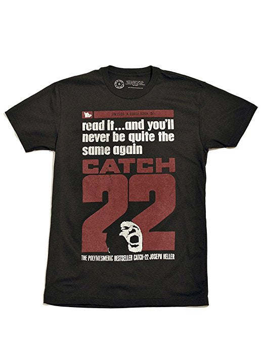 Catch-22 Men's Shirt-T-Shirt-Out of Print-The Library Marketplace