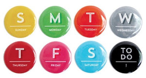 Days of the Week Magnets-Magnets-Tricia O-The Library Marketplace