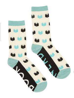 Book Nerd Socks-Socks-Out of Print-The Library Marketplace