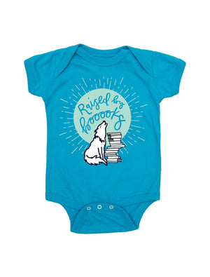 Baby Raised by Books Bodysuit