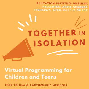 Together in Isolation: Virtual Programming for Children and Teens
