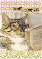 Stuff on My Cat Journal-Journal-Chronicle Books-The Library Marketplace