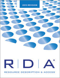 RDA: Resource Description and Access Print—2015 Revision-Perfect Bound-ALA Editions-Default-The Library Marketplace