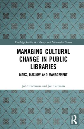 Managing Cultural Change In Public Libraries