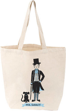 LoveLit Tote: Mr. Darcy - The Library Marketplace