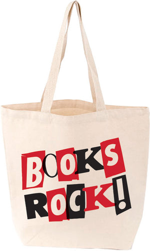 LoveLit Tote: Books Rock! - The Library Marketplace