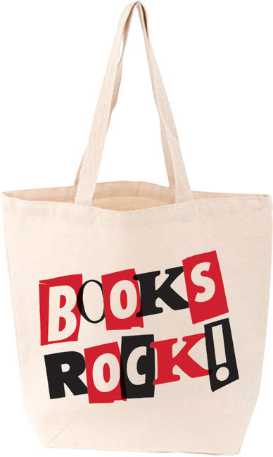 LoveLit Tote: Books Rock!
