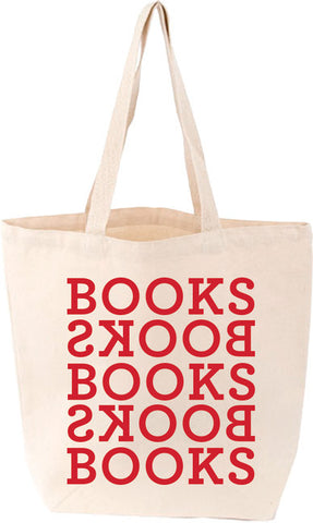 Books Books Tote - The Library Marketplace