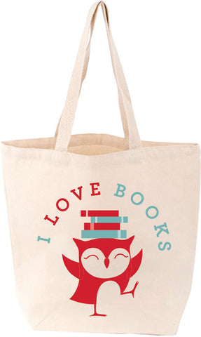 LoveLit Little Lit Tote: I Love Books - The Library Marketplace