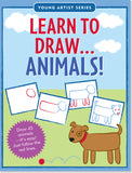 Learn to Draw... Animals!-Workbook-Peter Pauper Press-The Library Marketplace