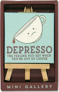 Depresso-Art-Peter Pauper Press-The Library Marketplace