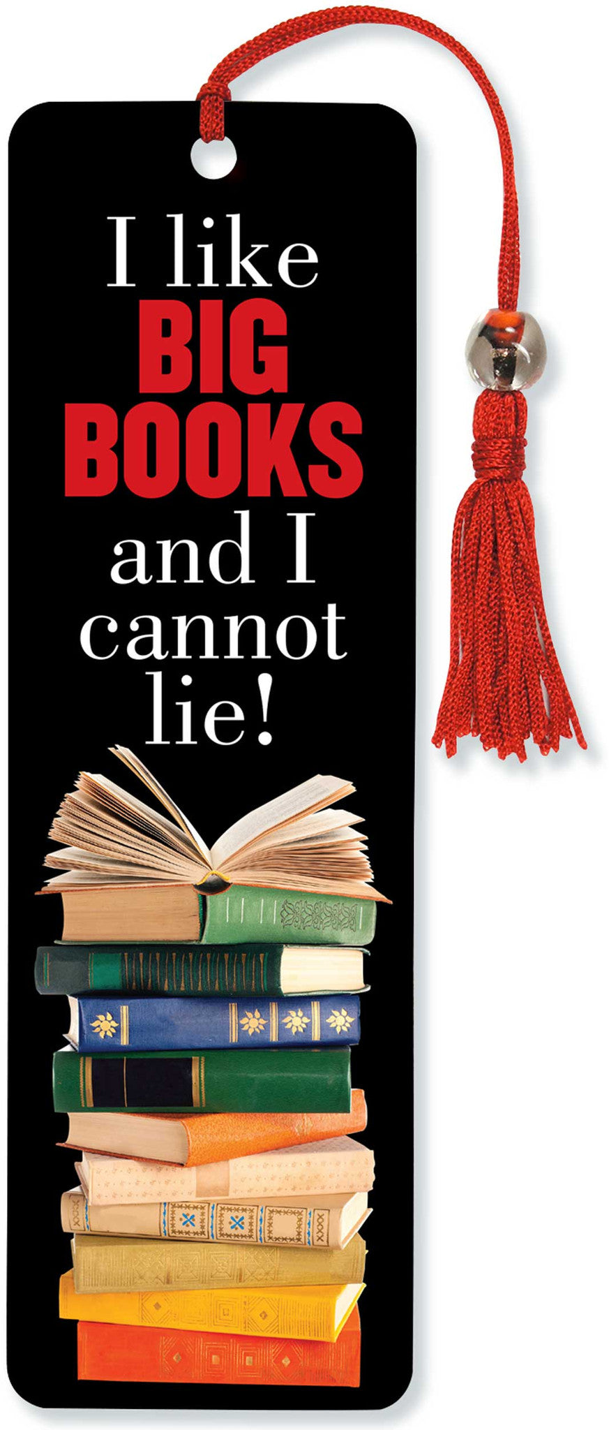 I Like Big Books Beaded Bookmark - The Library Marketplace
