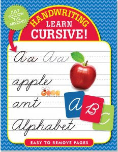 Handwriting: Learn Cursive!-Workbook-Peter Pauper Press-The Library Marketplace